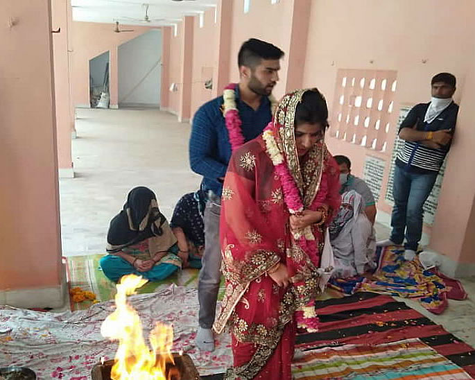Indian Bride visits In-Laws for Dowry-Free Wedding - ceremony