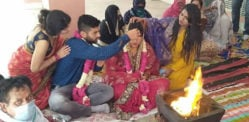 Indian Bride visits In-Laws for Dowry-Free Wedding