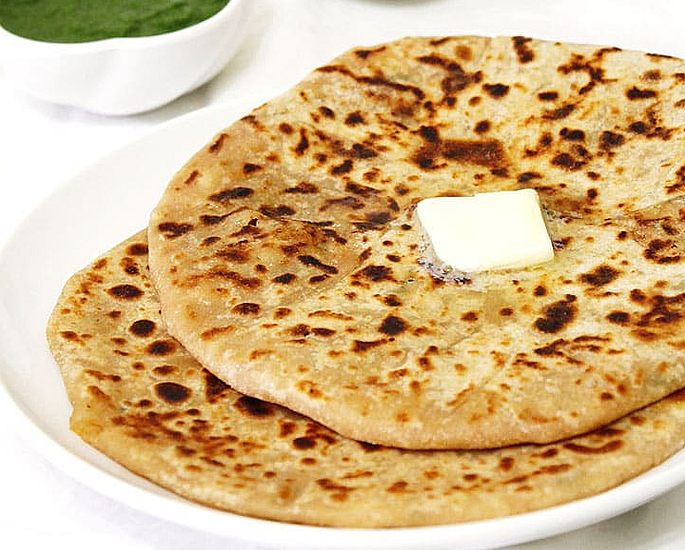 Indian Food to Make in 15 Minutes or Less - paratha