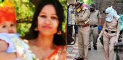 Indian Mother kills Baby Daughter & Jumps off Building