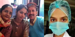 Indian Nurse cares for COVID-19 Patients on 'Wedding Day'