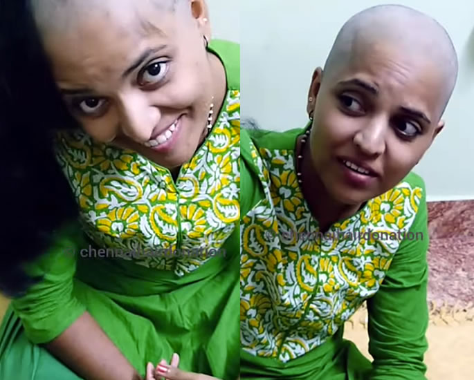 Indian Woman has Head Shaved to Donate Her Hair - final