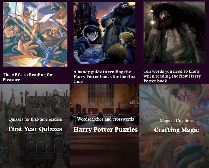 JK Rowling launches Harry Potter Hub online for Children - site