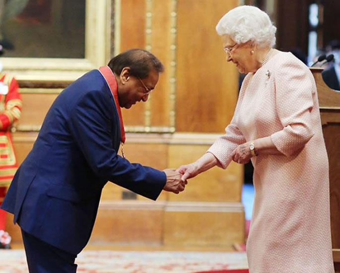 Lord Rami Ranger reveals Impact of COVID-19 on his Business - queen