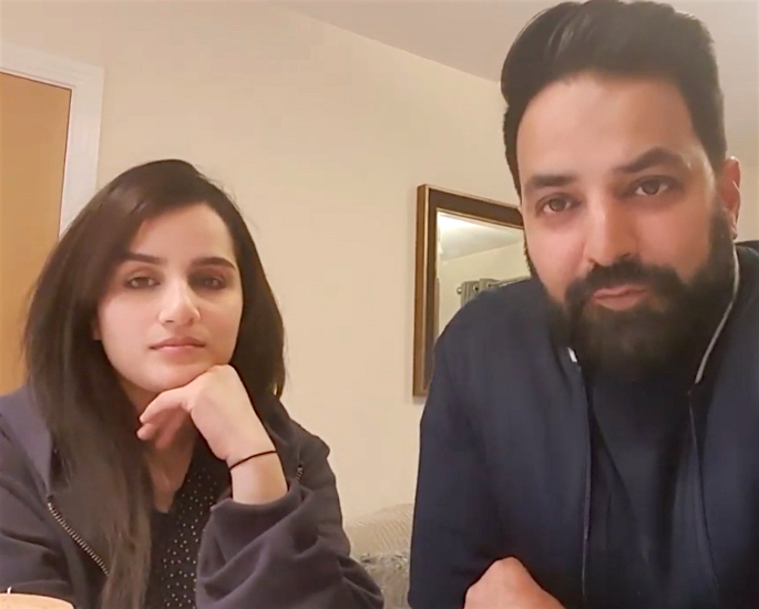 Mobby Shah & Family create Vlogs for Lockdown - couple