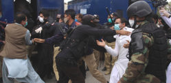 Pakistani Doctors Protesting for PPEs are Beaten by Police