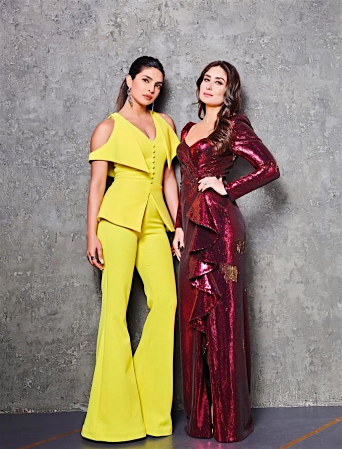 Priyanka says 'Only Point of Commonality' with Kareena is Shahid - both