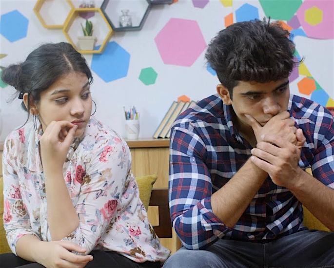 The Strain of Lockdown on Desi Romance - couple