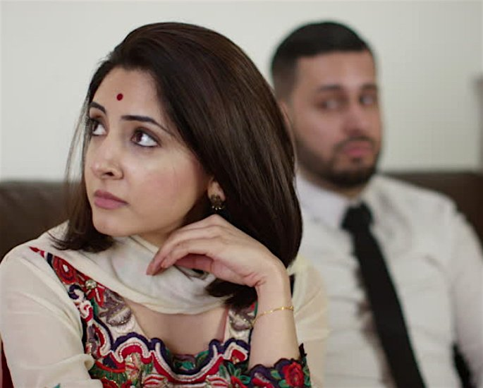 The Strain of Lockdown on Desi Romance - too much