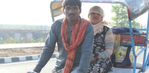 The Struggles of an Indian Rickshaw Driver during COVID-19 f