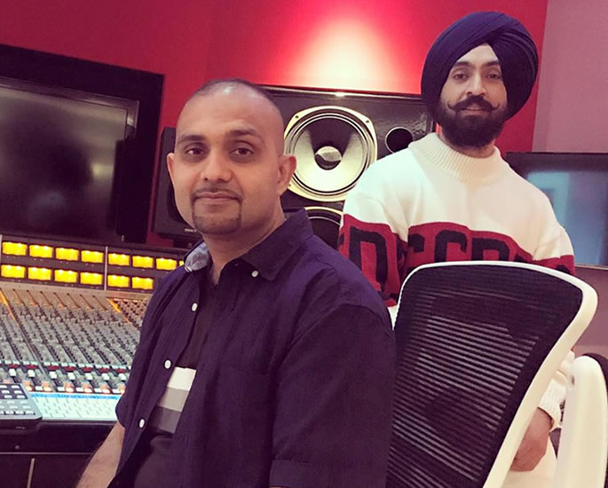 Tru-Skool reveals COVID-19 Challenges for his Music - Diljit Dosanjh