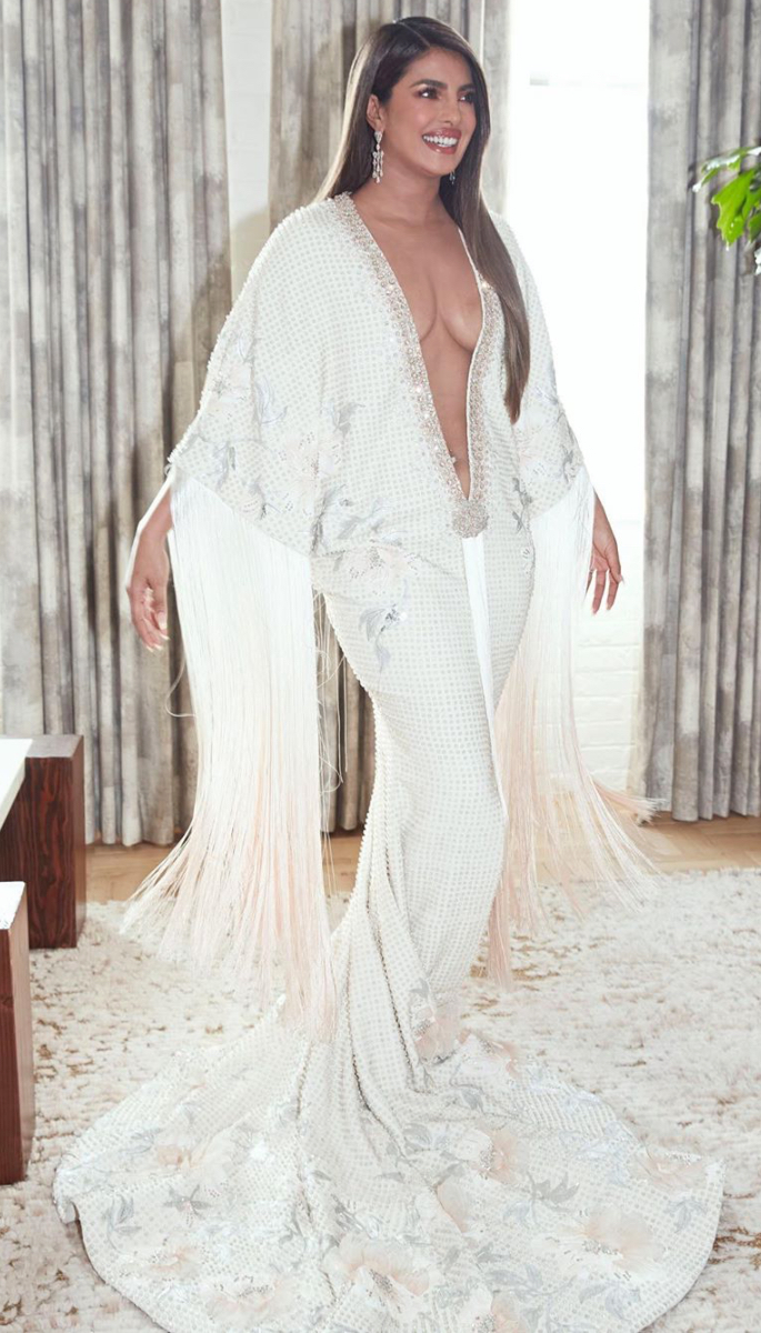 When Priyanka's Father banned Her from Tight Clothes - white3