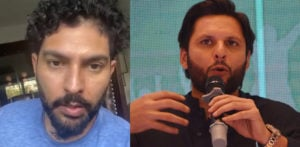 Yuvraj Singh trolled for backing Shahid Afridi's COVID-19 Fund f
