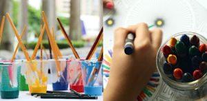 लॉकडाउन-एफ के दौरान बच्चों के लिए कला और शिल्प