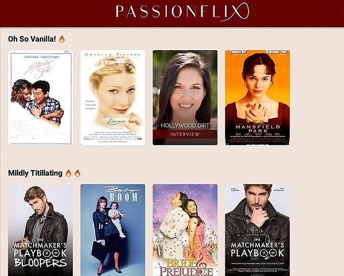 10 offering Alternative Movies - passionflix