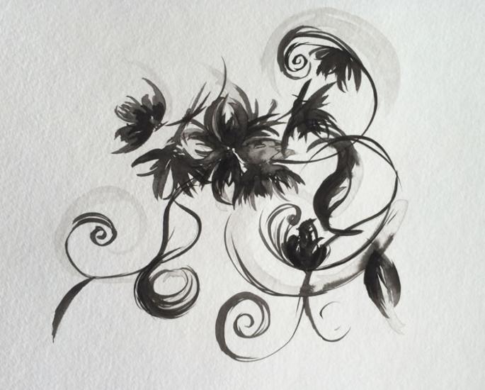 5 Art Mediums to enjoy during Lockdown - indian ink