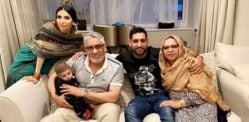 Boxer Amir Khan reunites with Parents & Introduces Son