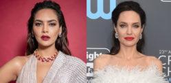 Esha Gupta reacts to comparison with Angelina Jolie
