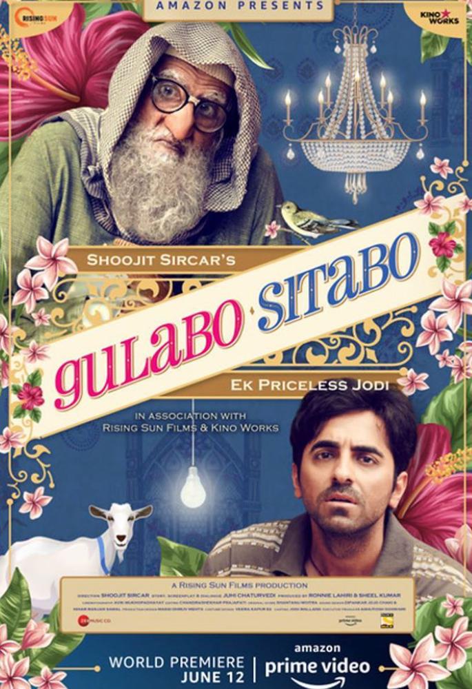 Gulabo Sitabo criticised for Digital Release? - poster