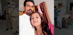 Indian Husband Strangles Wife after 6 Year Marriage f