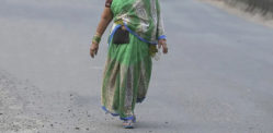 Indian Wife walked 40 Days to meet Husband after Row