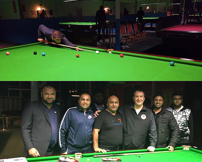 Mohammed Nisar talks Beating COVID-19 & Snooker Academy - IA 5