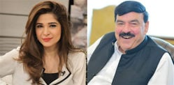 Pakistani actress Ayesha Omar would Marry Sheikh Rasheed?