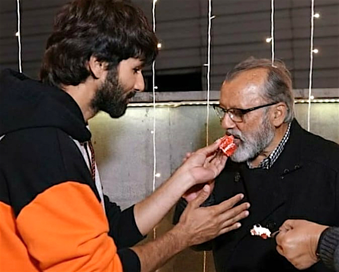Pankaj reveals it was 'Not Easy' to 'Separate' from Shahid - cake