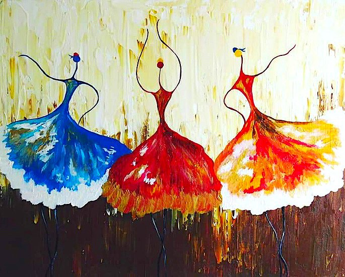 Rahat Kazmi: A Remarkable & Creative Abstract Painter - IA 3