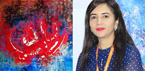 Rahat Kazmi: A Remarkable & Creative Abstract Painter - f