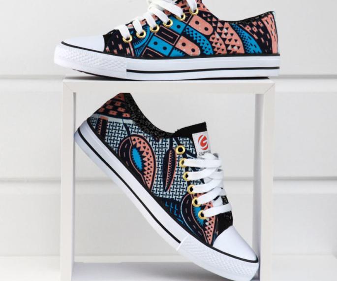 Sneakers to Wear with Salwar Kameez - converses