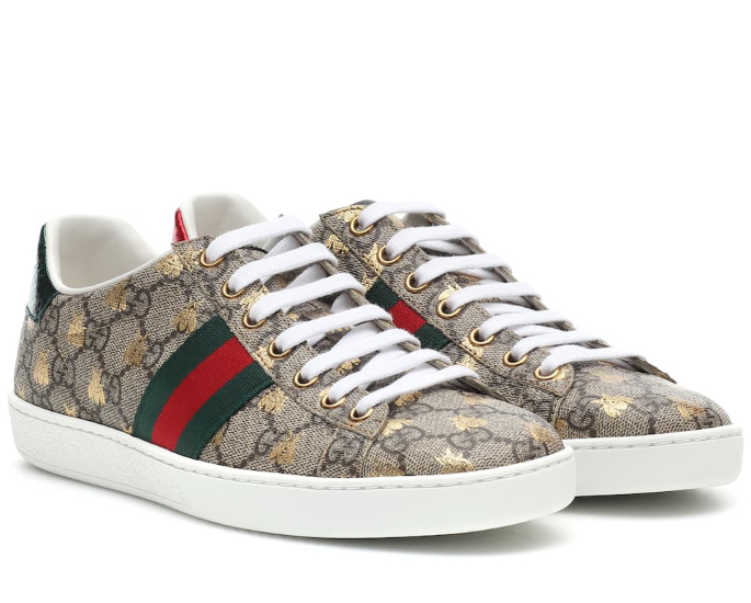 Sneakers to Wear with Salwar Kameez - gucci