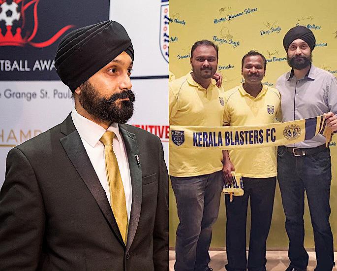 Super Agent Baljit Rihal talks Growth of Indian Football - IA 1