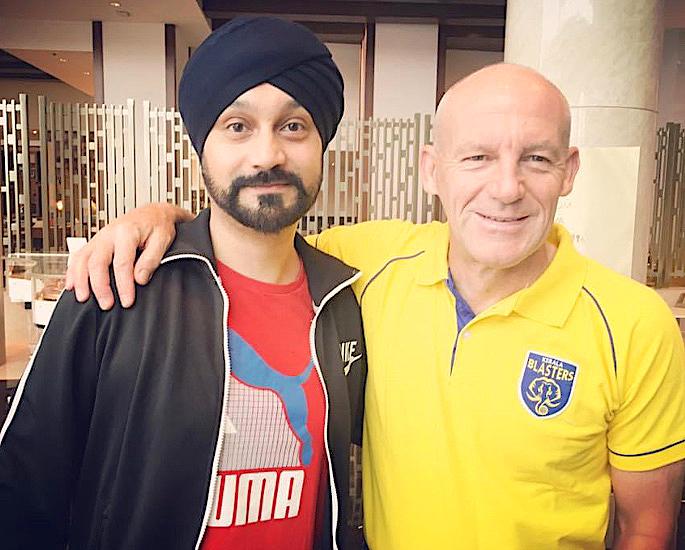 Super Agent Baljit Rihal talks Growth of Indian Football - IA 2