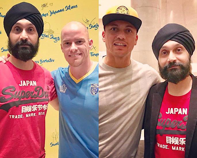 Super Agent Baljit Rihal talks Growth of Indian Football - IA 3
