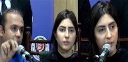Uzma Khan holds Press Conference over Incident