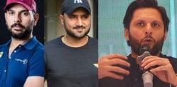 Yuvraj & Harbhajan regret backing Afridi's Covid-19 Fund