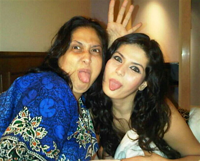 Zareen Khan reveals Struggle after Father Walked Out - mother
