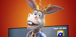 'The Donkey King' makes History on Pakistani Television