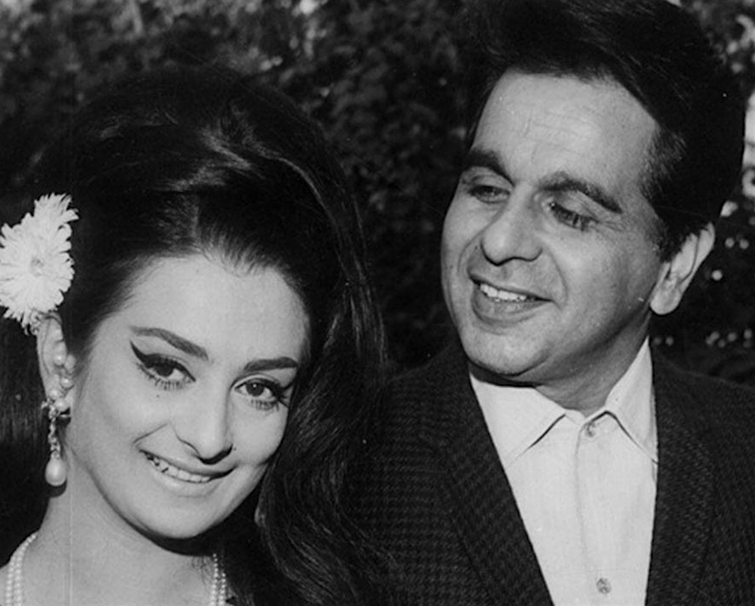 10 Bollywood Actors who married Actresses - dilip kumar