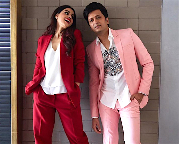 10 Bollywood Actors who married Actresses - riteish