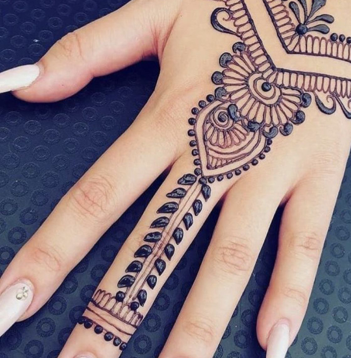 12 Indian Arts & Crafts you can Learn at Home - henna