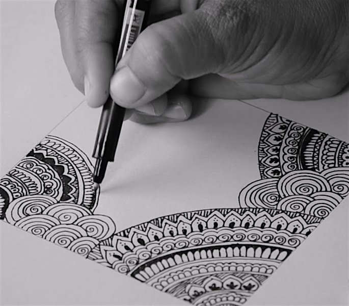 12 Indian Arts & Crafts you can Learn at Home - mandala