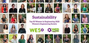 Asian Women in UK's Top 50 Women in Engineering 2020 f