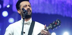 Atif Aslam shocks fans by Singing in Female Voice