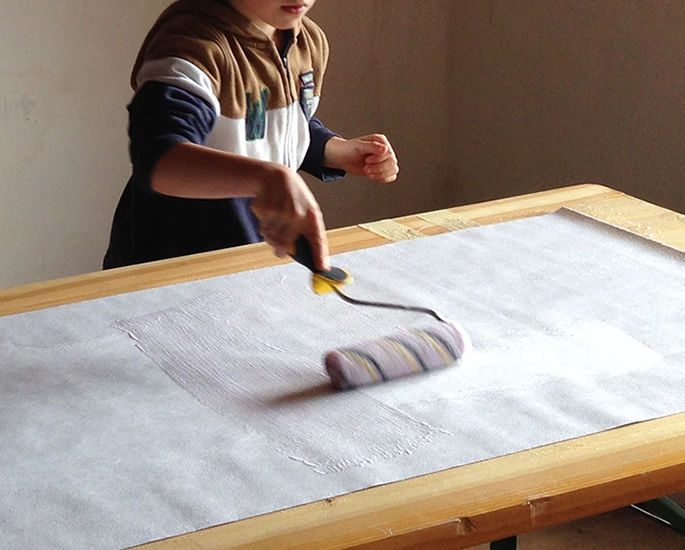 DIY Skills to Try Out with the Kids - wallpapering