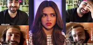 Deepika angry at Ranveer during his chat with Ayushmann? f
