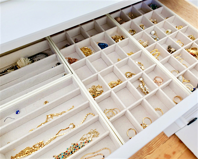 Desi Jewellery Storage Ideas & Hacks - organise