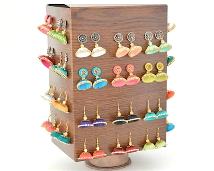 Desi Jewellery Storage Ideas & Hacks - rotate