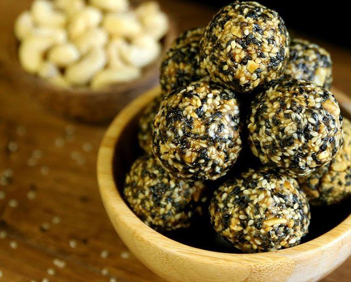 Different Types of Ladoo to Make at Home - sesame